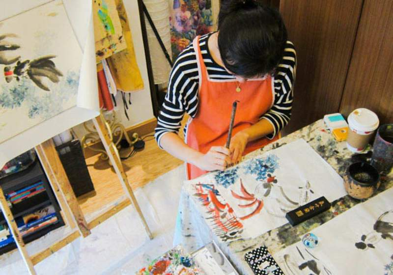 Chinese Painting Class Klook