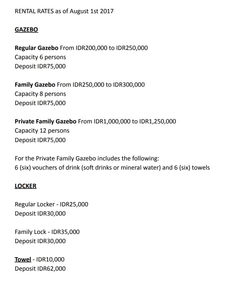 Waterbom Bali Waterpark Discount Ticket Promo - Online