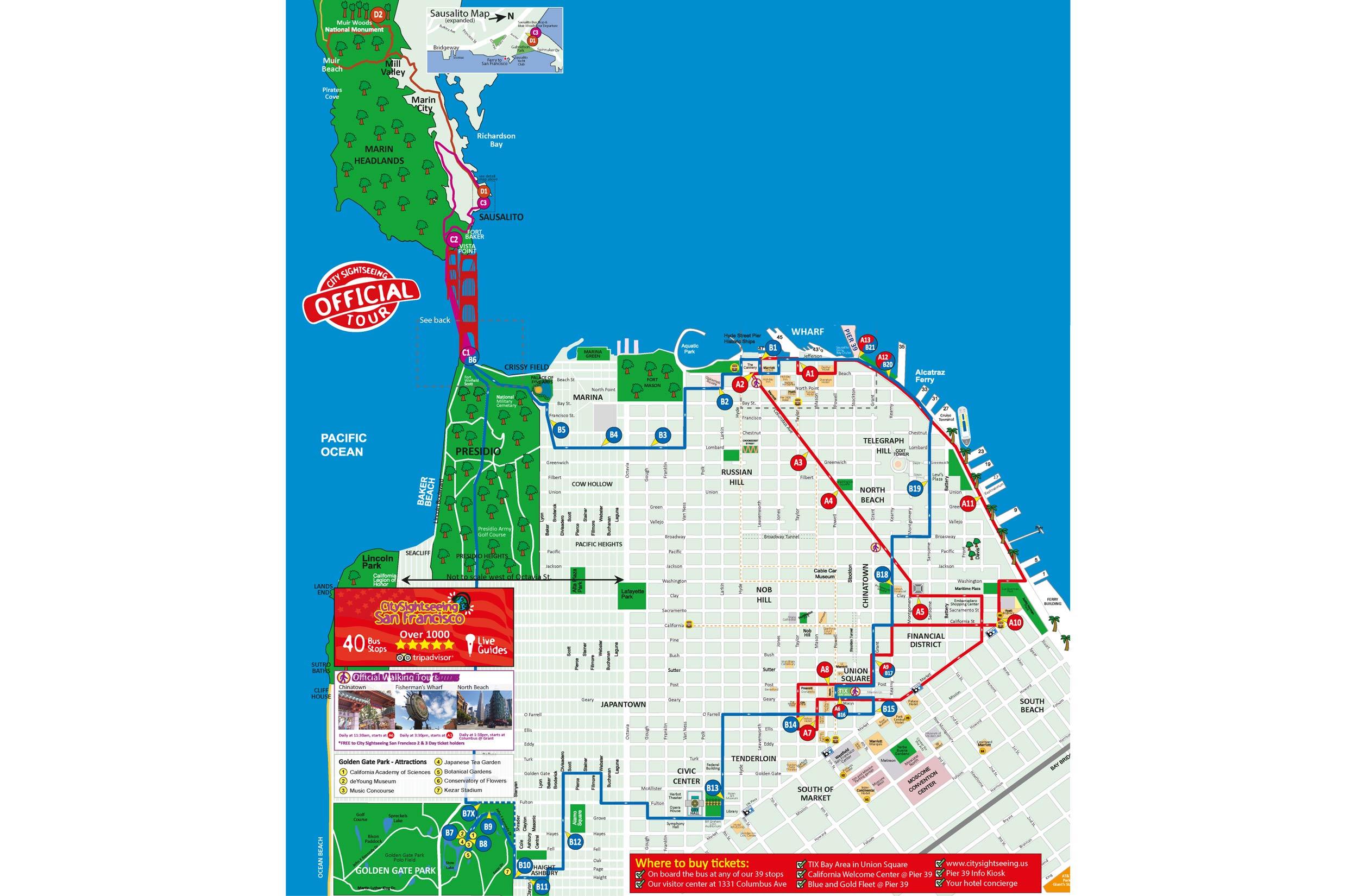 San Francisco Bus Tours Klook