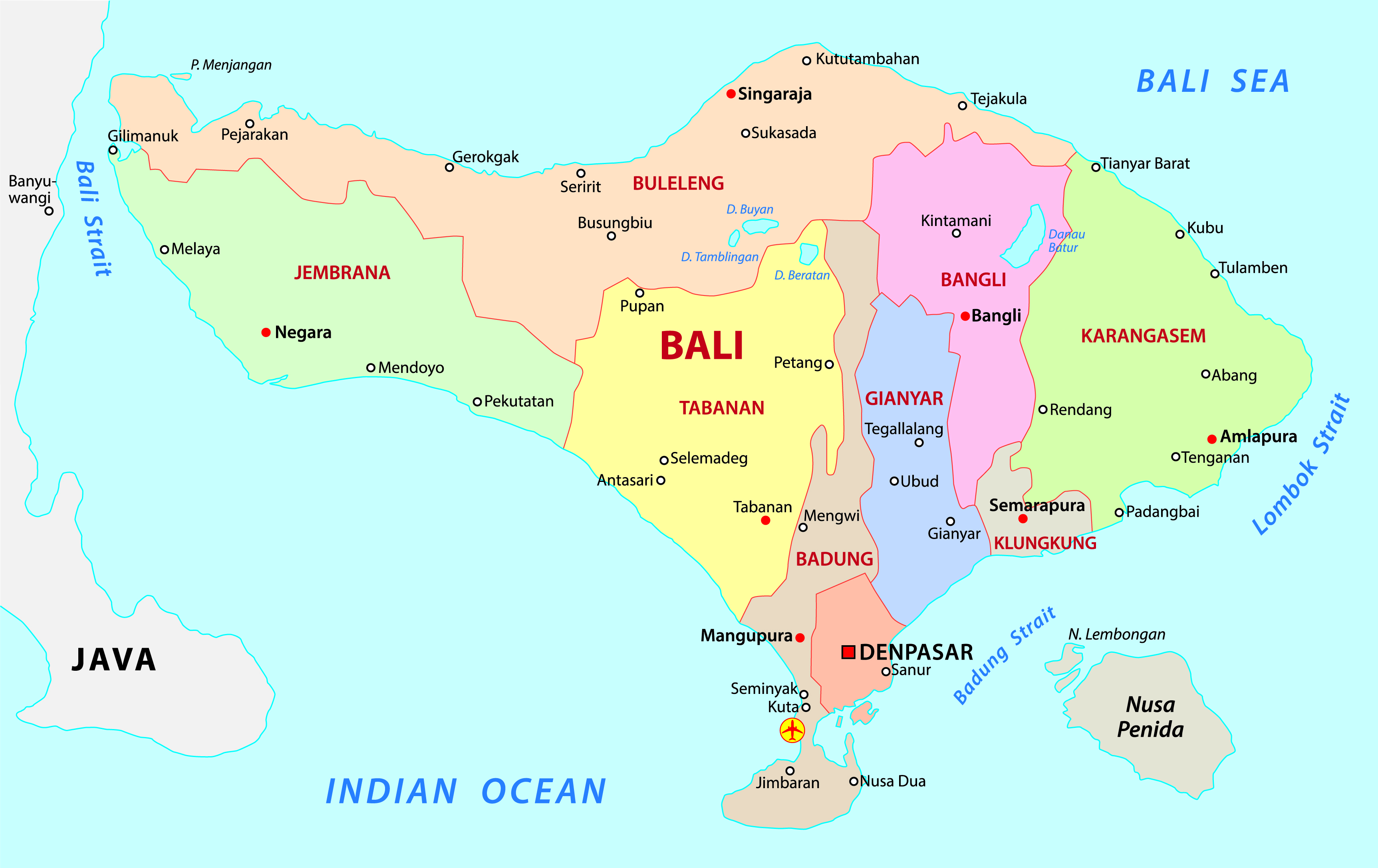 One week bali itinerary the lesser known side most tourists miss klook bali map lesser known bali itinerary gumiabroncs Images