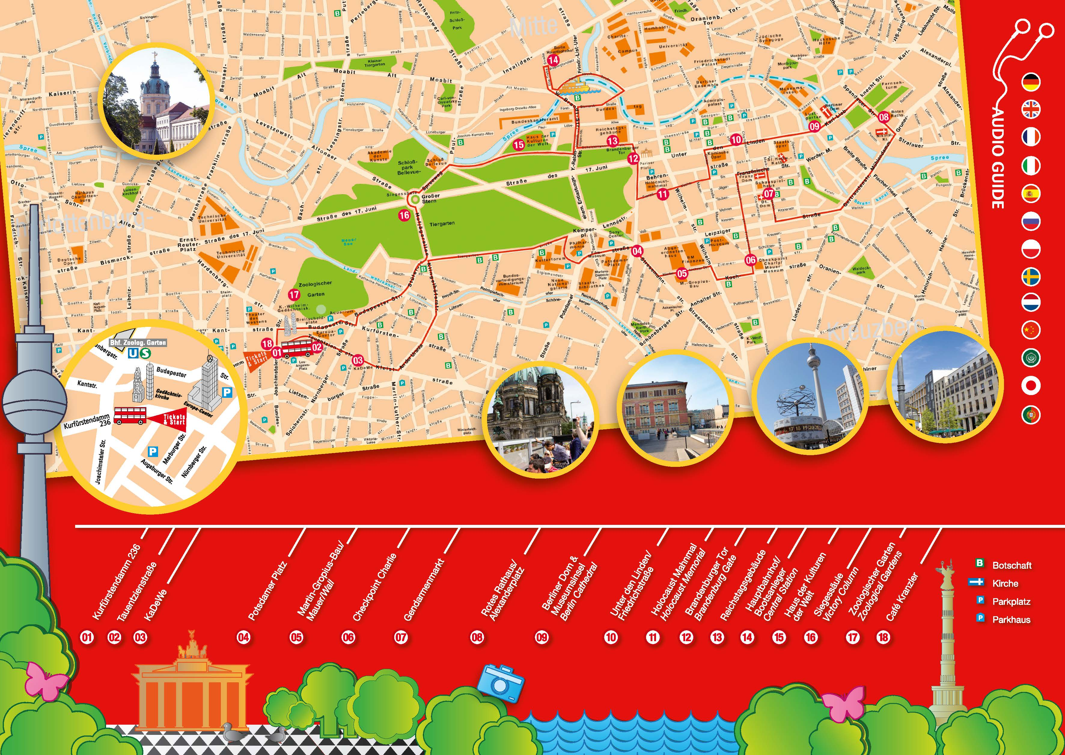 Discover Berlin with a Hop On Hop Off Sightseeing Bus in ...