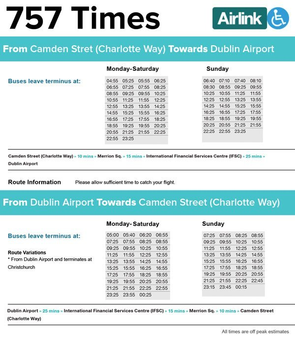 Airlink Express Bus Transfer Tickets In Dublin Klook