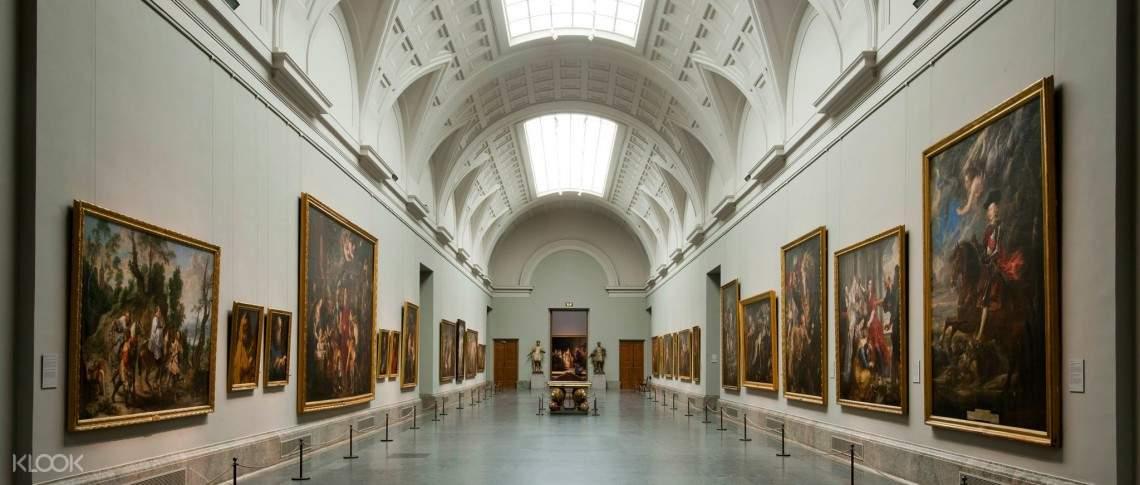 普拉多博物馆免排队,普拉多美术馆门票,普拉多博物馆快速通关图片