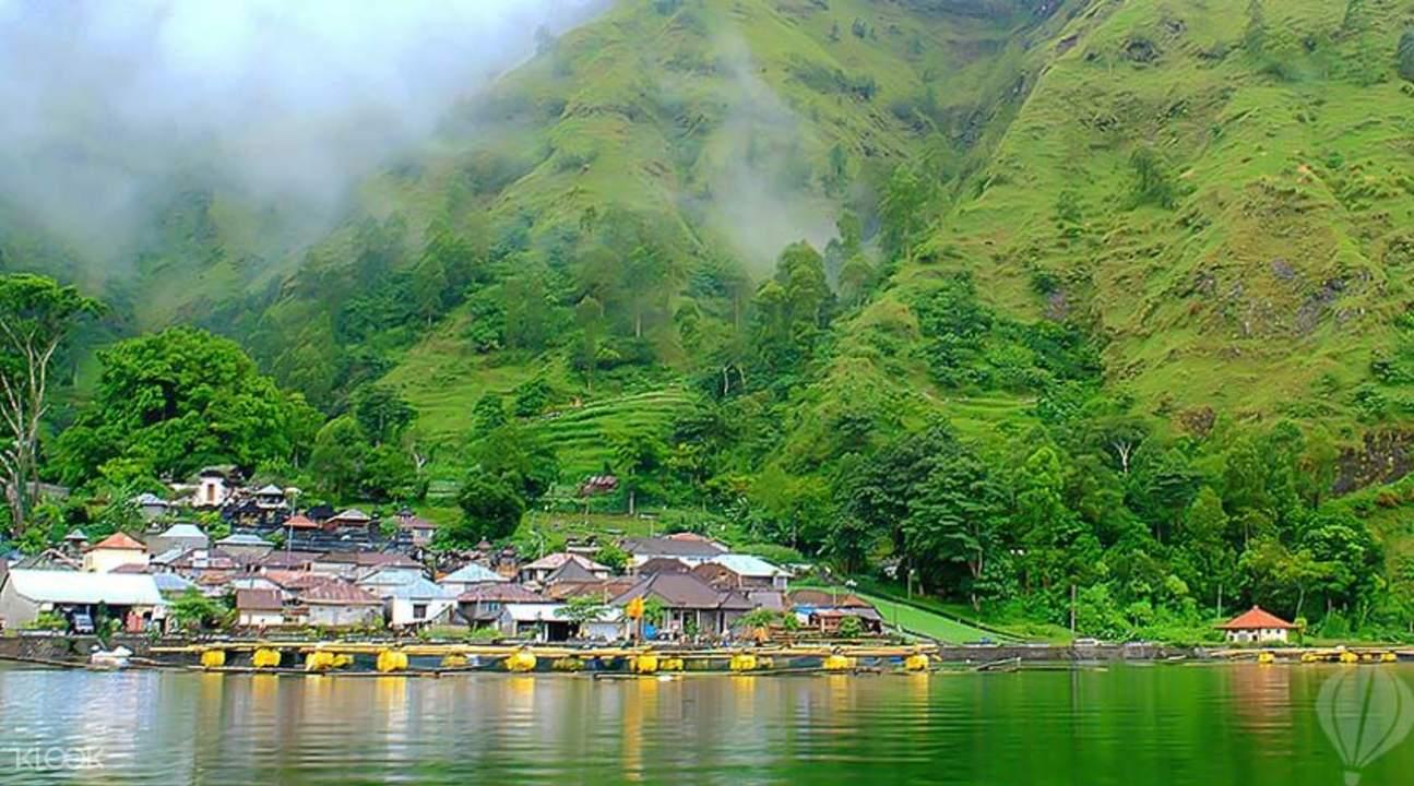 山区村庄自然风景图片