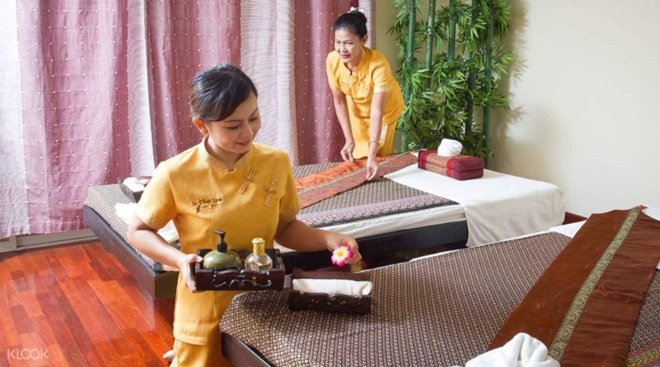 曼谷so thai spa・素泰水疗按摩