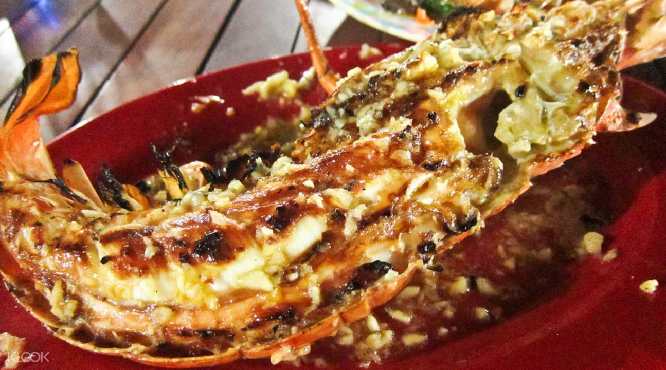 富国岛鱿鱼烧烤大餐