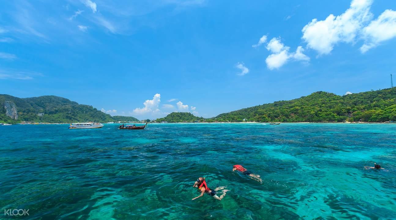 皮皮岛私人快艇游