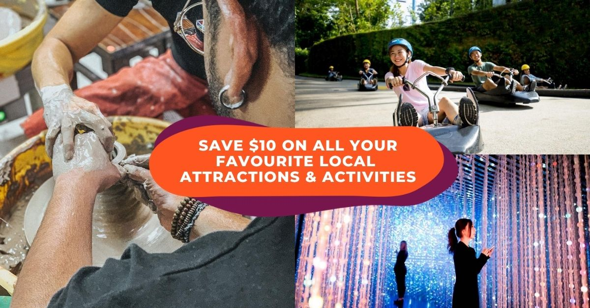 Enjoy Weekly 1-For-1 Deals And Save $10 On Your Favourite Activities Like Southern Island Ferry Ticket And Dragon Kiln Workshop