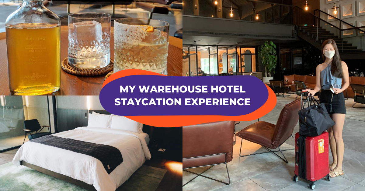 """""""My Warehouse Hotel staycation was the most relaxing holiday yet in 2020"""": KlookInsider"""