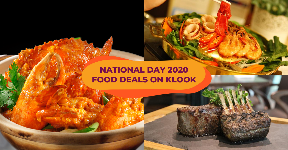 National Day 2020 Promotions : Up To 50% Food Deals On Klook Including Mookata, Kaya Martinis & More