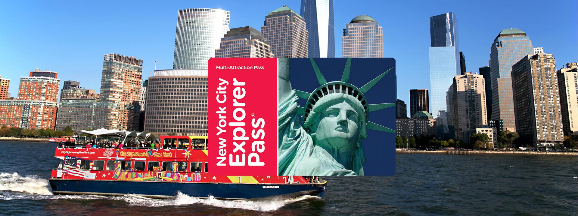 new york city explorer pass guidebook