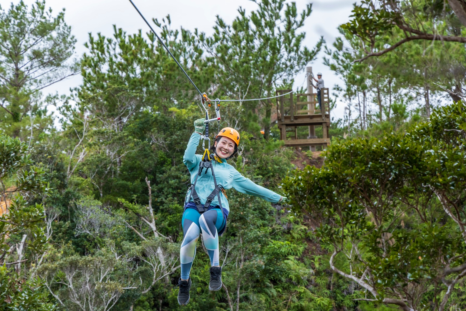Okinawa Fly Zipline Experience At Matayoshi Coffee Farm Live Japan Japanese Travel Sightseeing And Experience Guide
