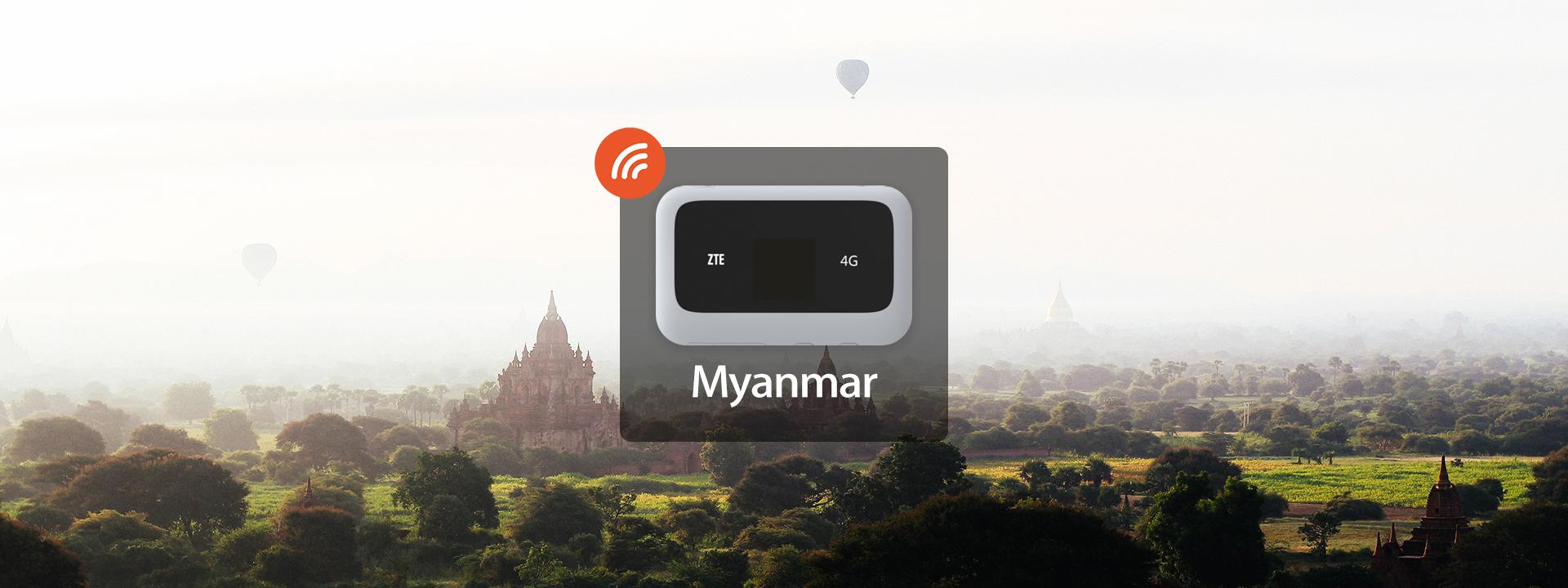 Myanmar 4G/3G Portable WiFi Rental & Prepaid Sim Card - Klook