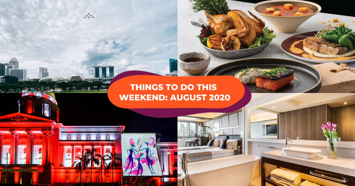 Best Things To Do In Singapore This Weekend August 2020: National Day Picnics, Light Ups & More