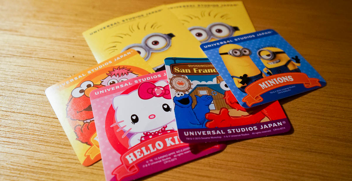 Universal Studios Japan Special Stickers