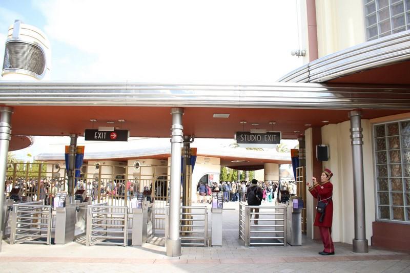 VIP entrance at Universal Studios Japan