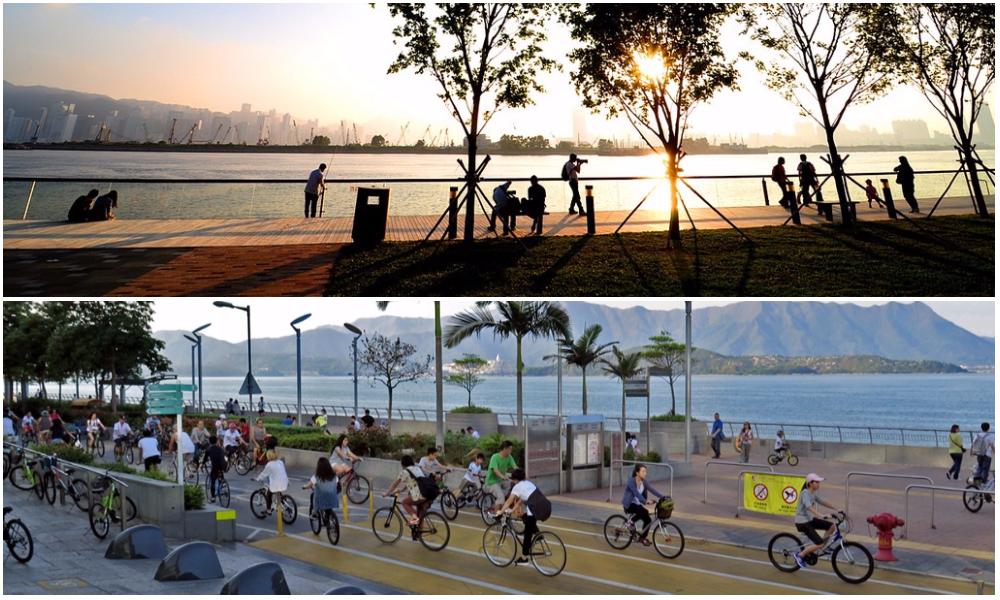 【香港7大海濱】最好hea的海濱花園及長廊
