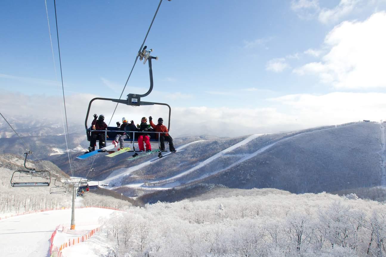 【韓國 滑雪】15大滑雪勝地推介