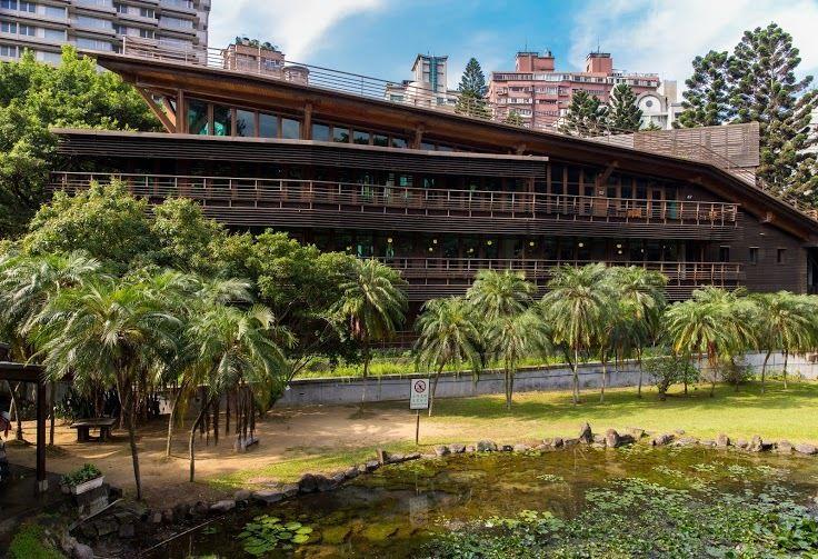 「北投圖書館」是台灣首座綠建築圖書館。(圖片來源/台北旅遊網)