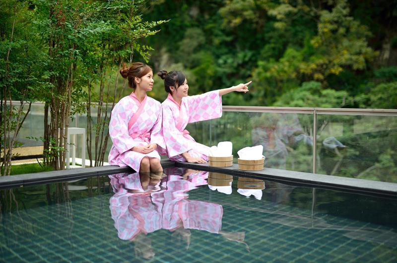四季風呂美人湯(照片來源:知本金聯世紀酒店官網)
