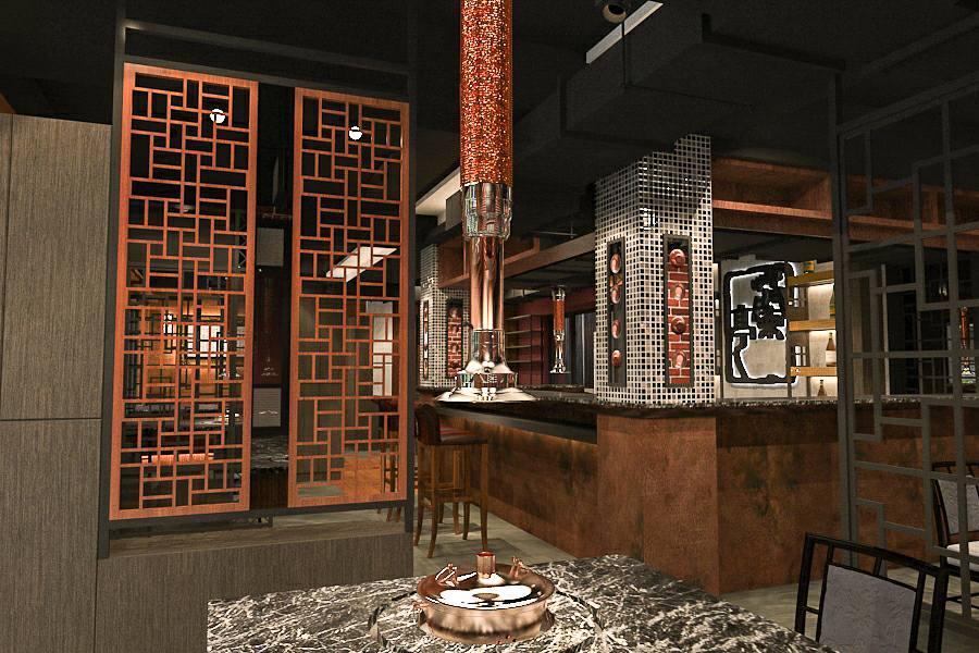 蘭亭的餐廳內部裝潢很有中國古典風,繚繞藝術人文氣息。(圖片來源/蘭亭和牛極致燒粉絲團)