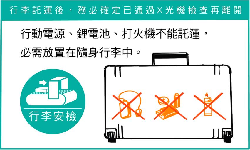 隨身行李規定