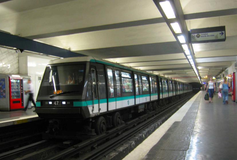 法國巴黎Metro photo by Wikiwand