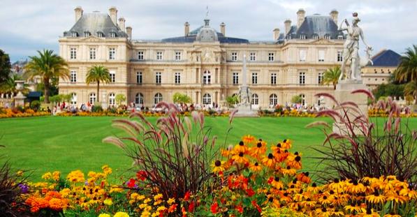 法國巴黎盧森堡公園 photo by iyatrip