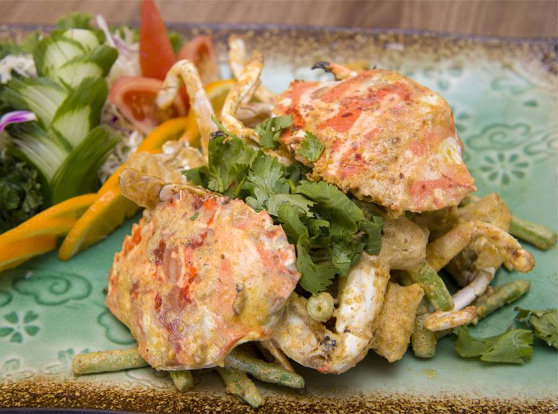 金沙花蟹。(圖片來源/萬里蟹官網)