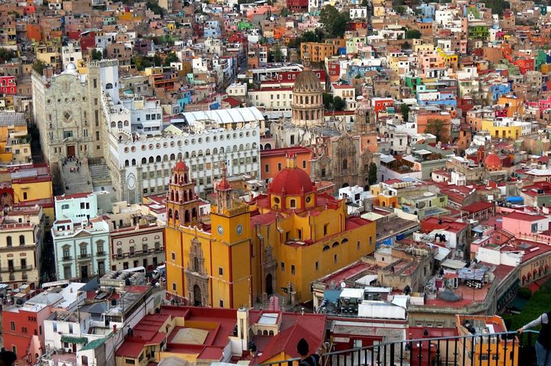 鳥瞰瓜納華托(照片來源:Pixabay)