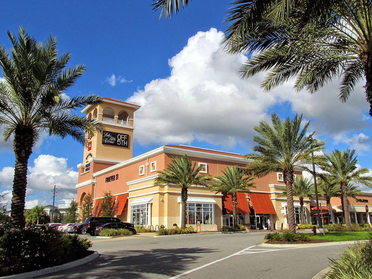Orlando Premium Outlets 圖片來源:https://goo.gl/8L8chy