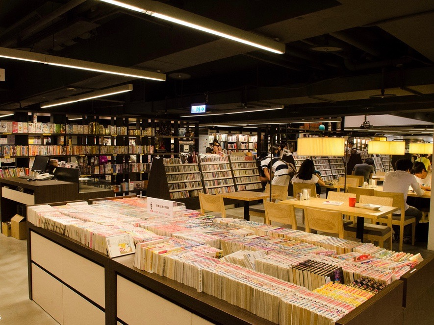 二 手 書 店 也 可 以 相 當 有 質 感 (圖片來源:http://goo.gl/2yLFYy )
