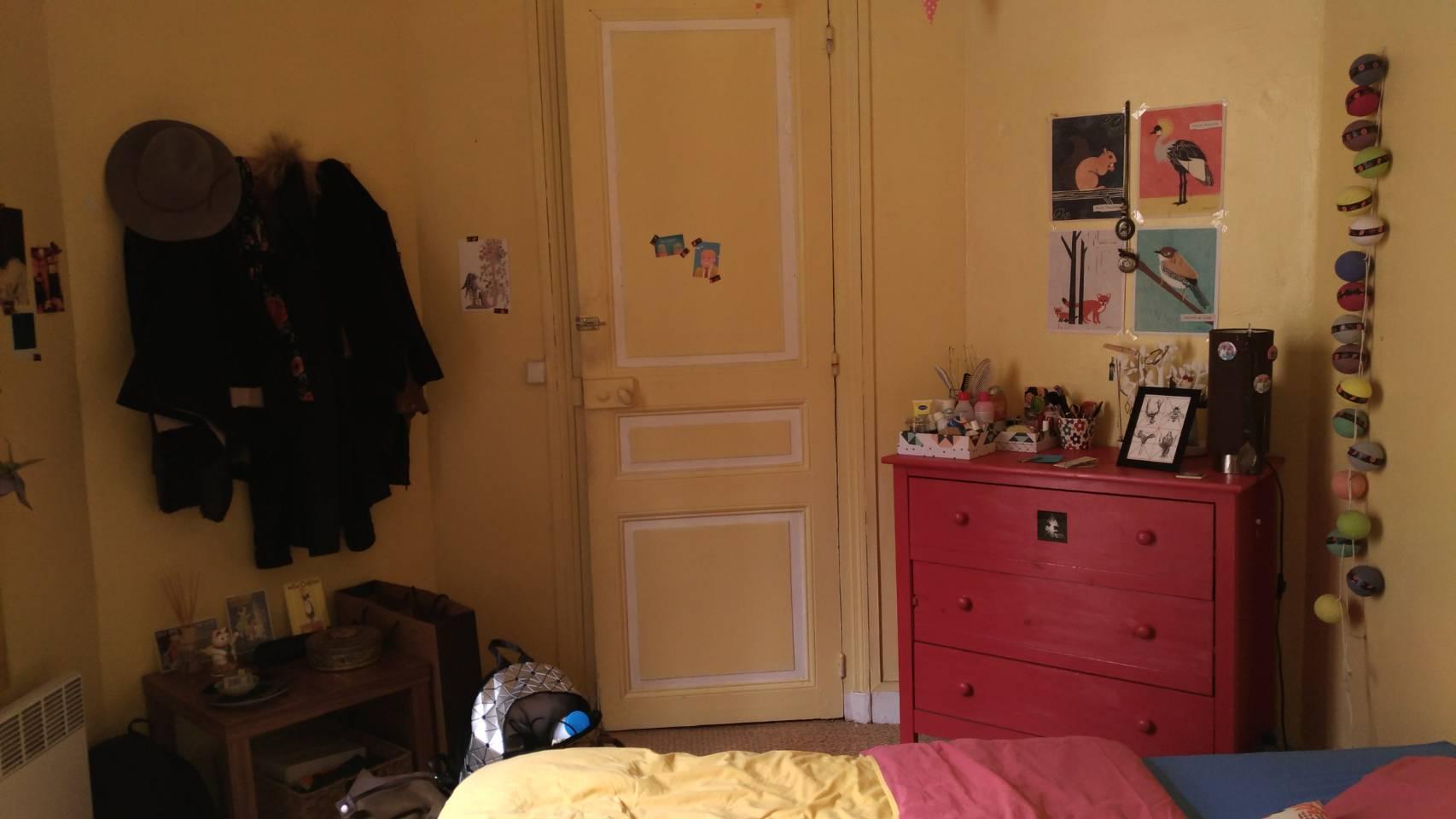 法國巴黎位於第13區的Airbnb之房門 photo by 倍包客