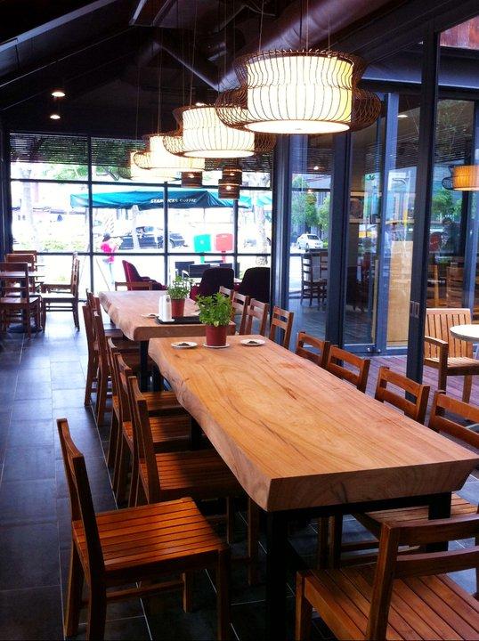 店 內 一 隅 。 圖 片 來 源 : 統 一 星 巴 克 咖 啡 同 好 會。