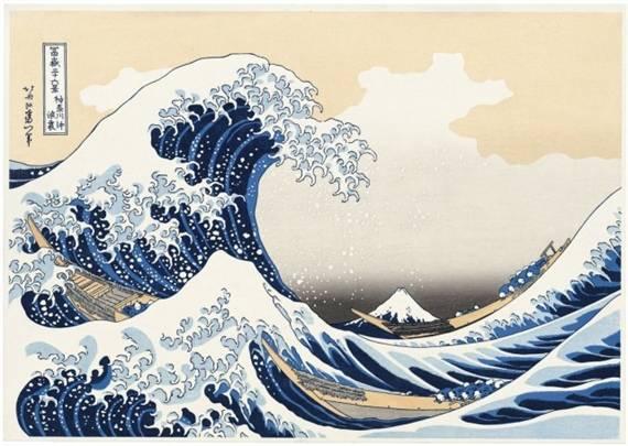 日本浮世繪作品。