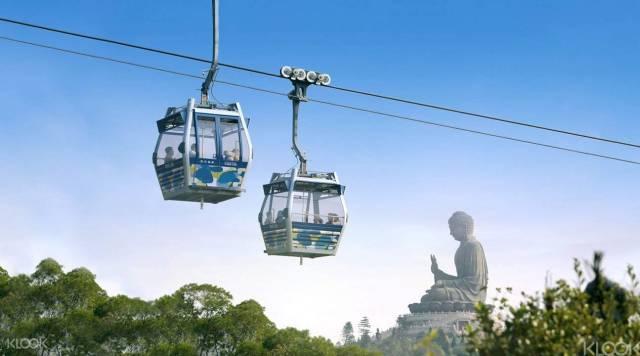 想 一 睹 世 界 上 最 大 青 銅 佛 像 , 坐 上 纜 車 就 對 了 !