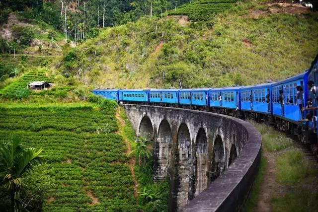 斯 里 蘭 卡 小 火 車