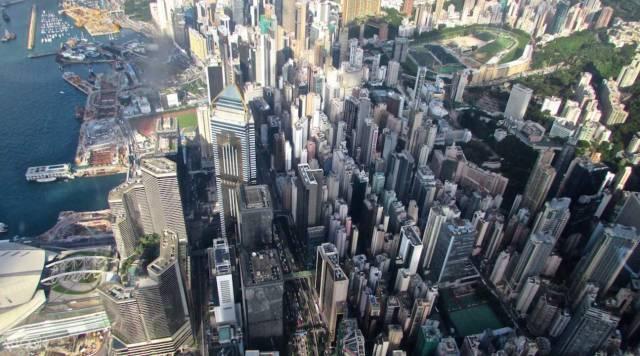 香港交通工具 還 可 以 祭 出 空 拍 規 模 ! 香港叮叮車