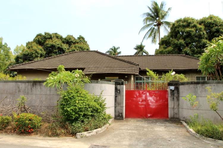 明德新村的日式平房建築。(圖片來源/高雄旅遊網)