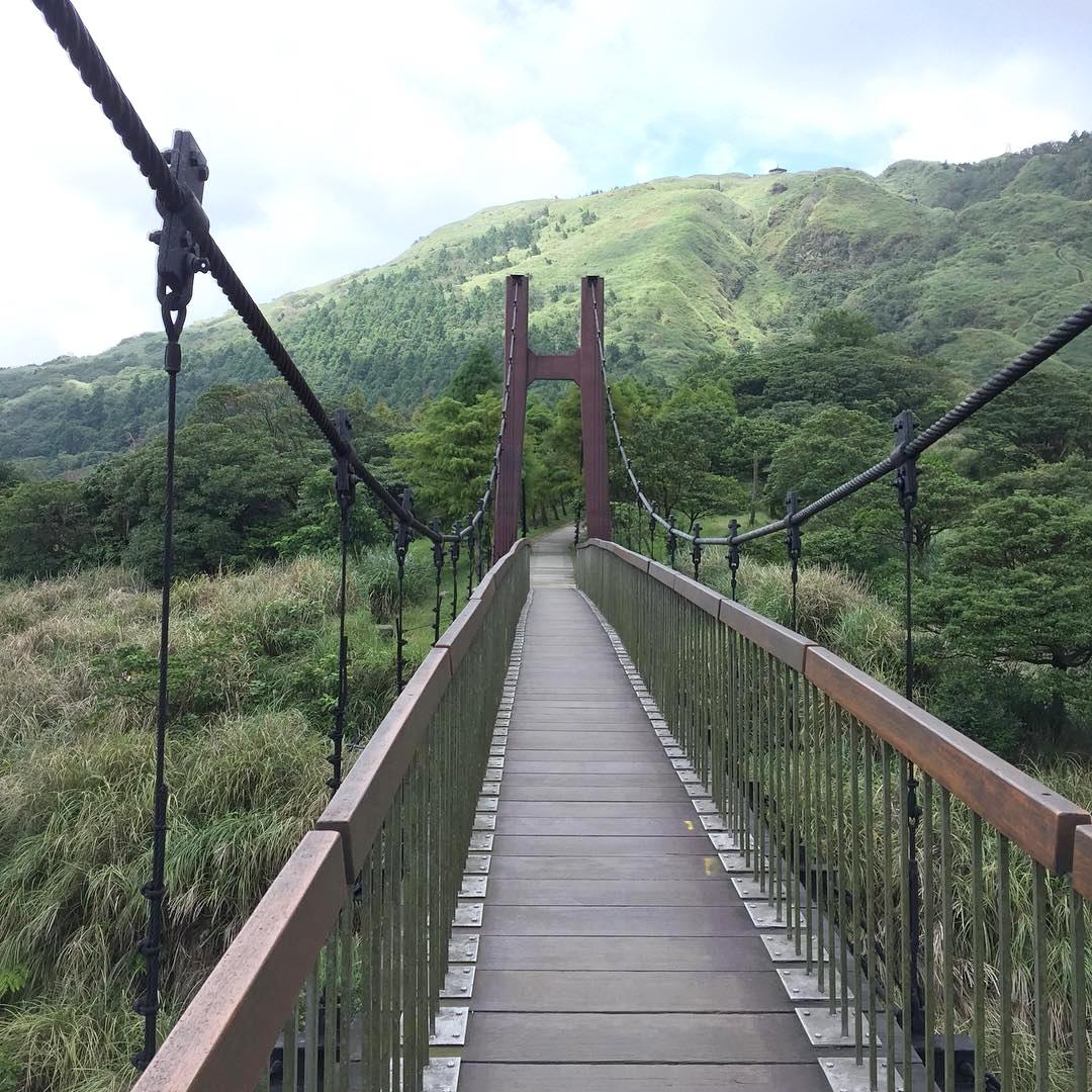 菁山吊橋一景。(圖片來源/Instagram-ittle_black1107)