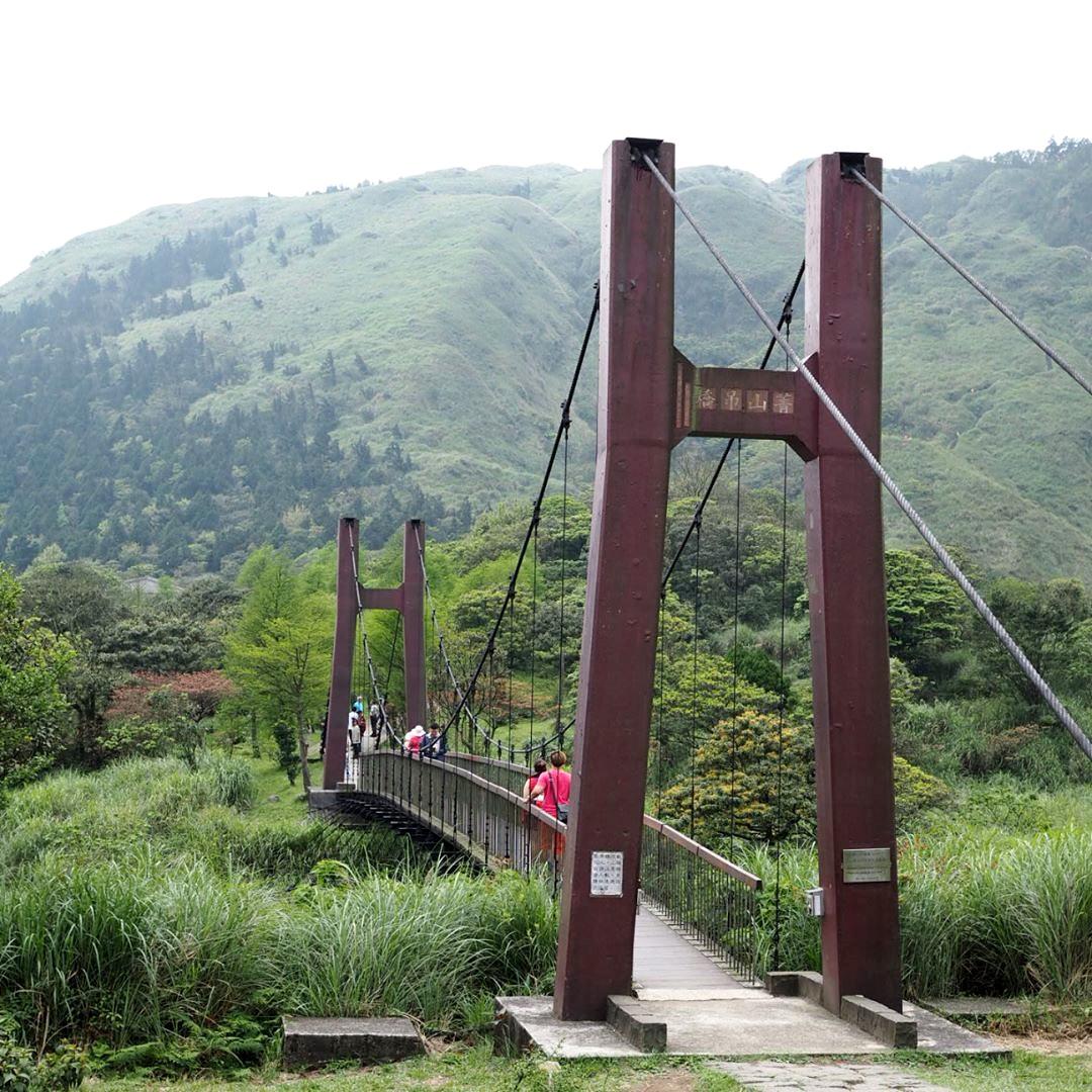 菁山吊橋一景。(圖片來源/Instagram-taiwan2011travel)