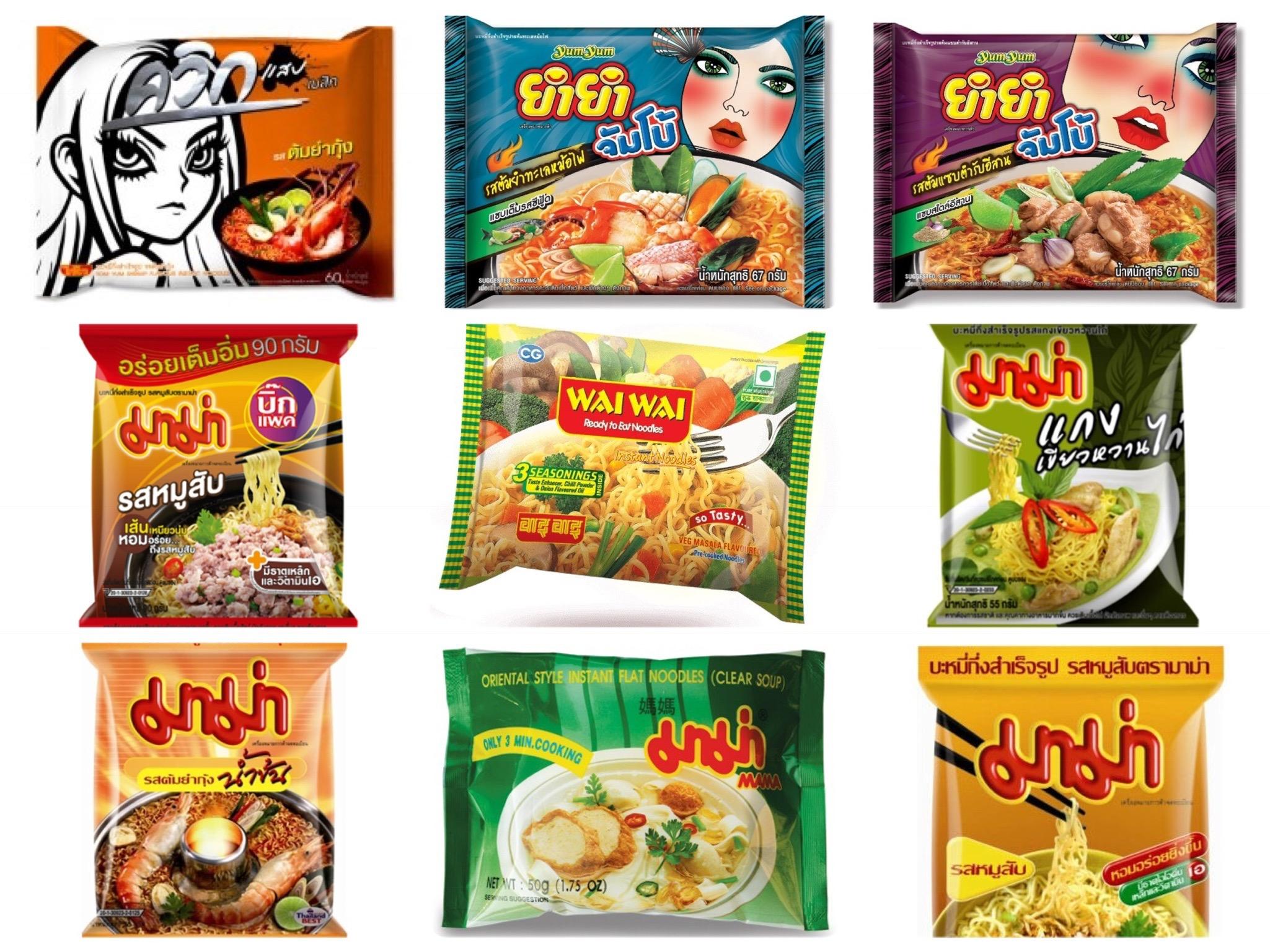 8款 泰國必買泡麵 ! 照著這份清單買,絕對不會踩到地雷!