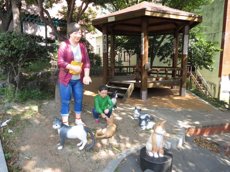 《與流浪貓的親密日常生活》甘川洞文化村