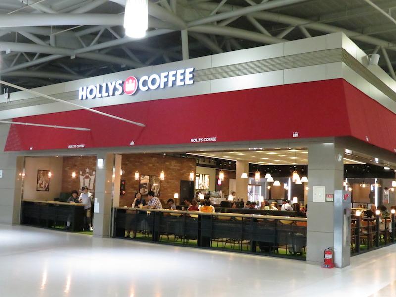 Hollys Coffee營業時間 05:30~21:00