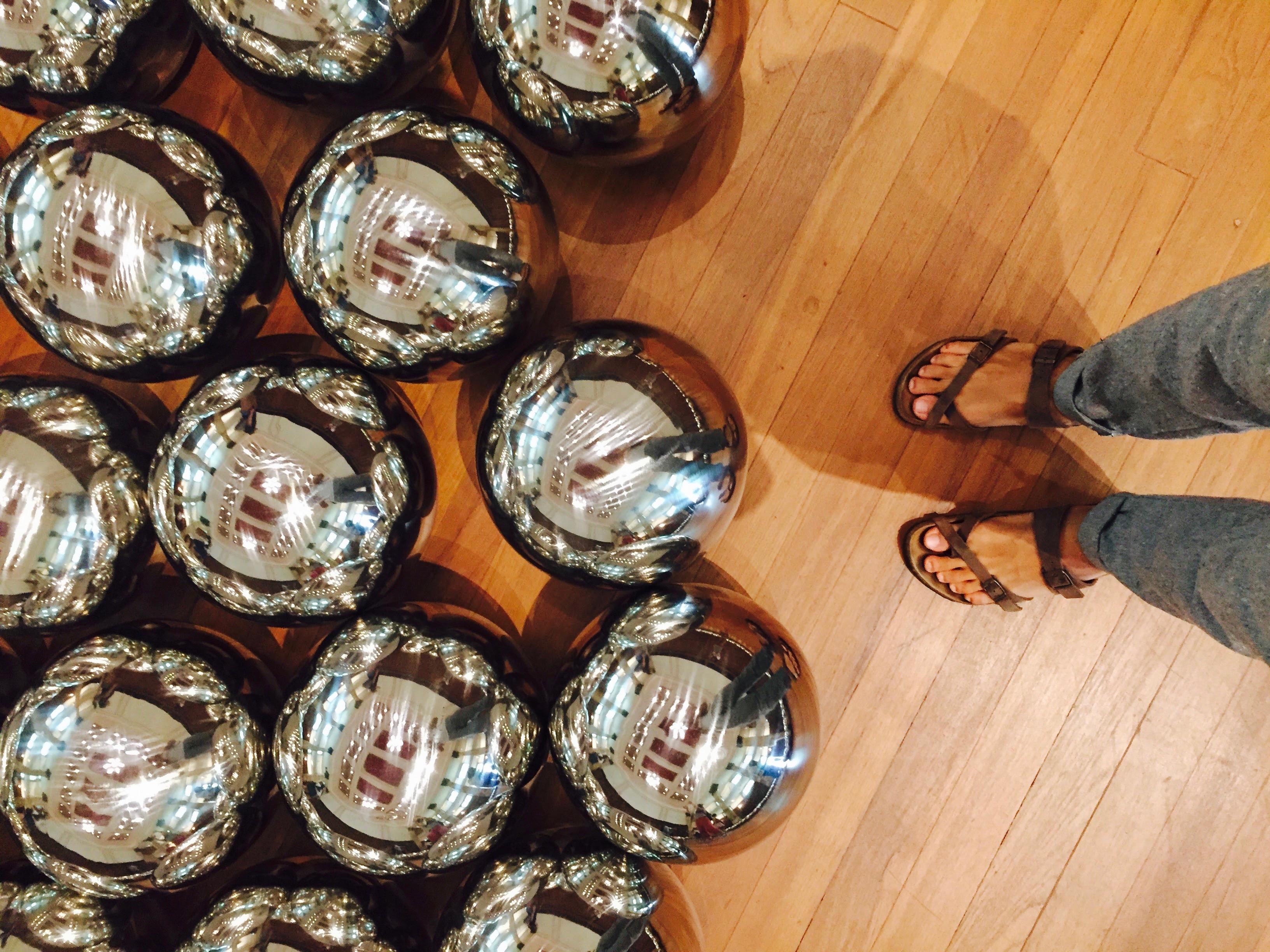 必拍景點七 : 密集鋼鐵保齡球。