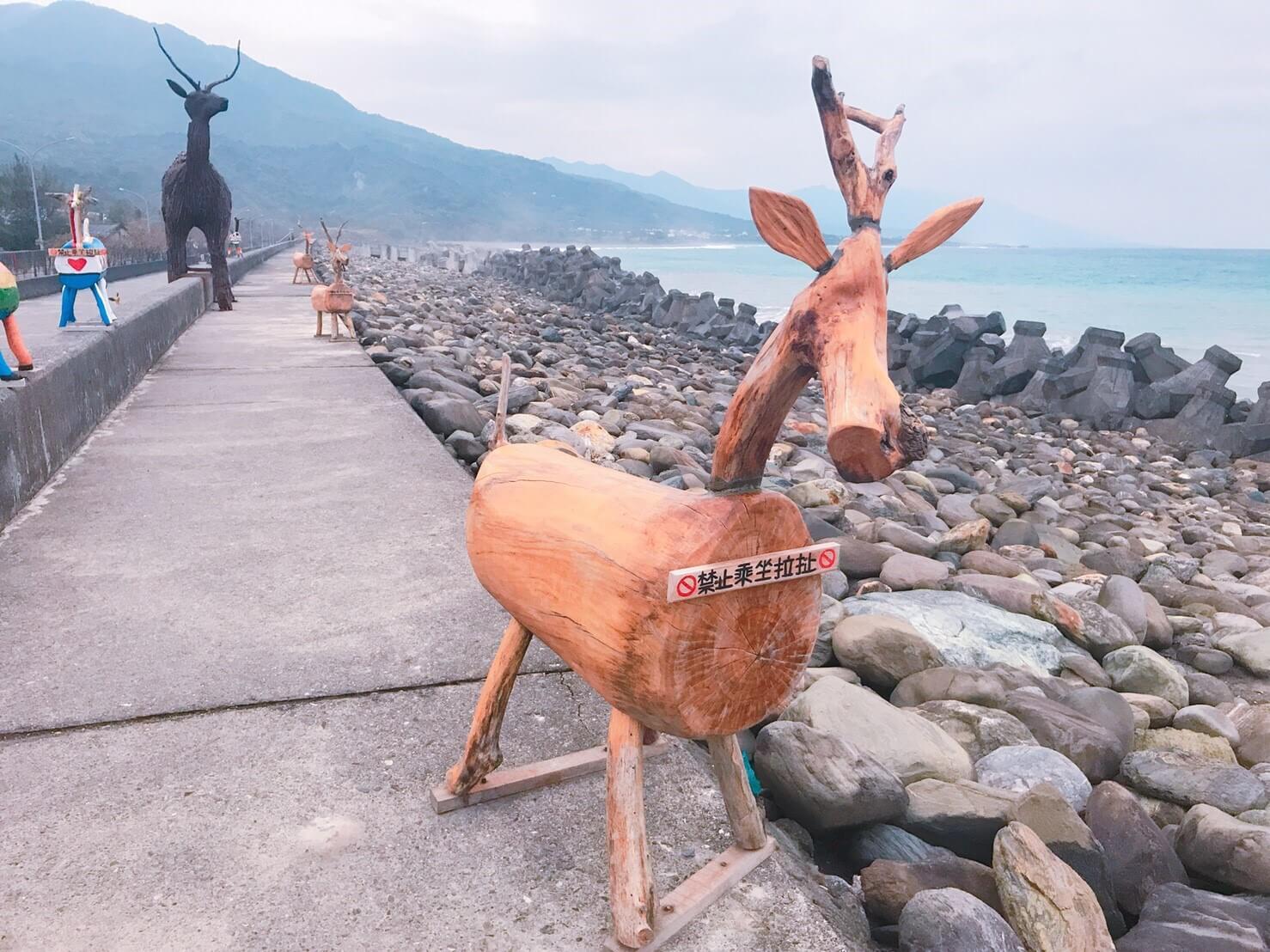 比西里岸有許多超好拍幾米裝置藝術。Photographer / Penny