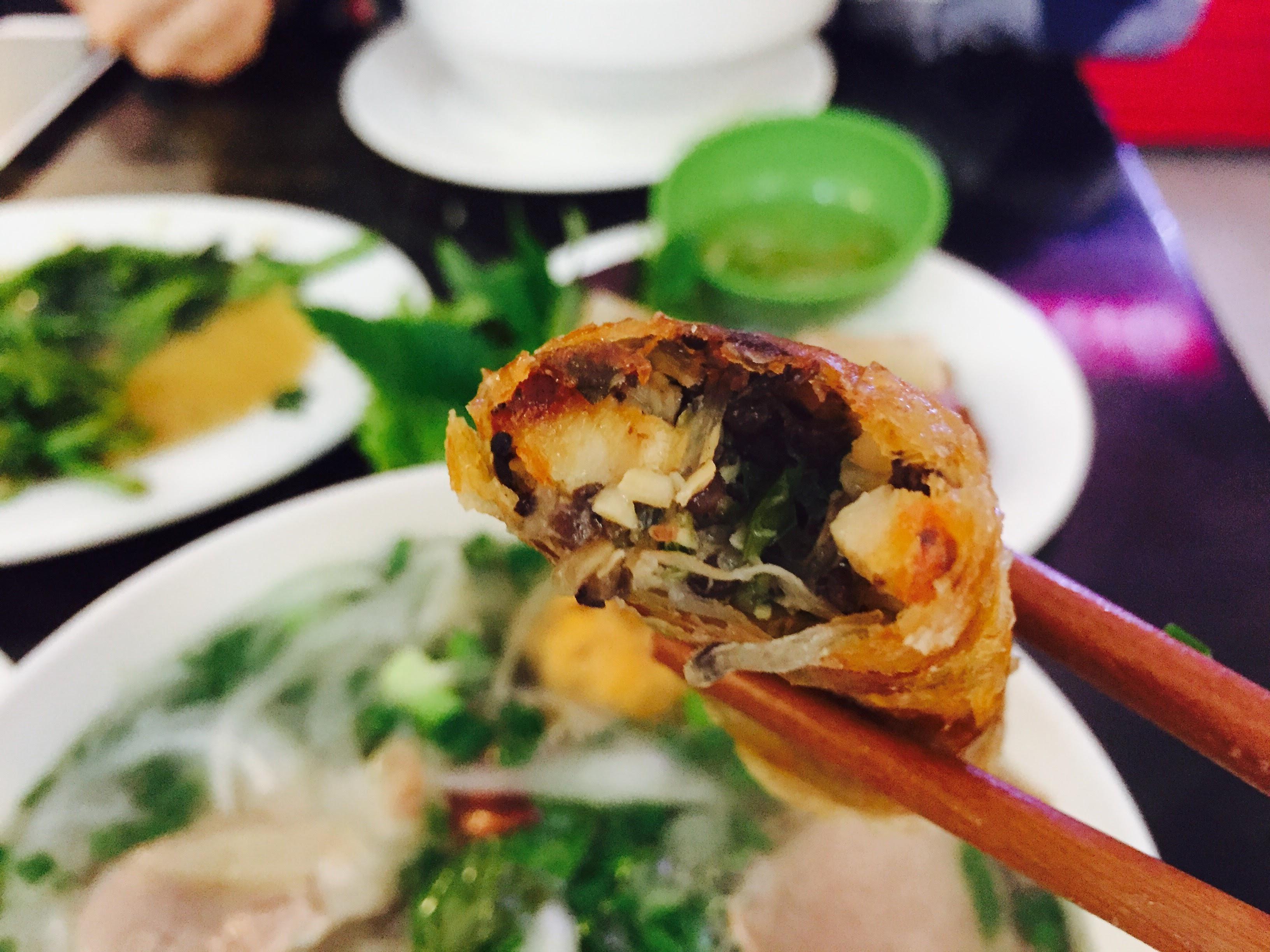 越南必吃 : 炸春捲