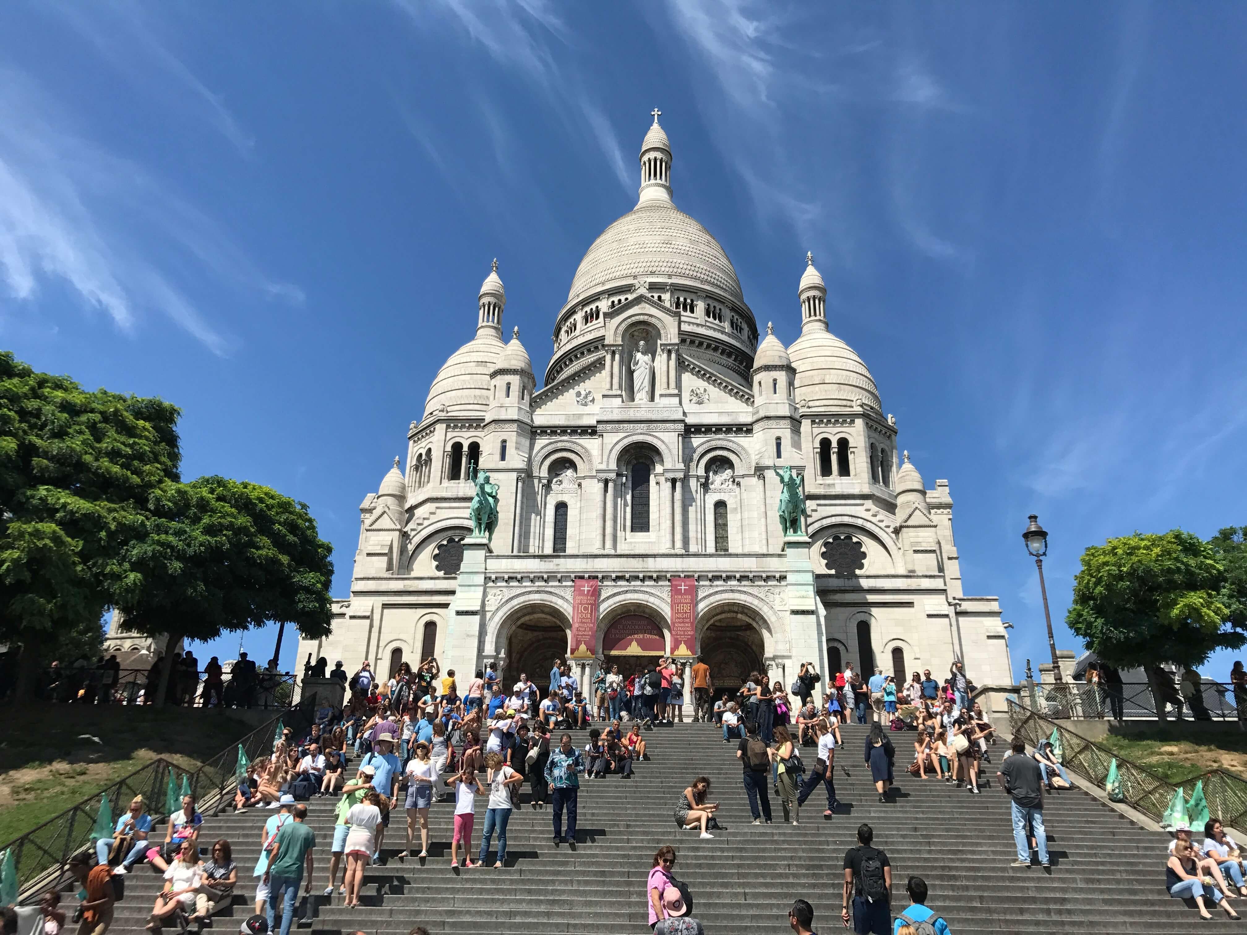 法國巴黎聖心堂 photo by 倍包客