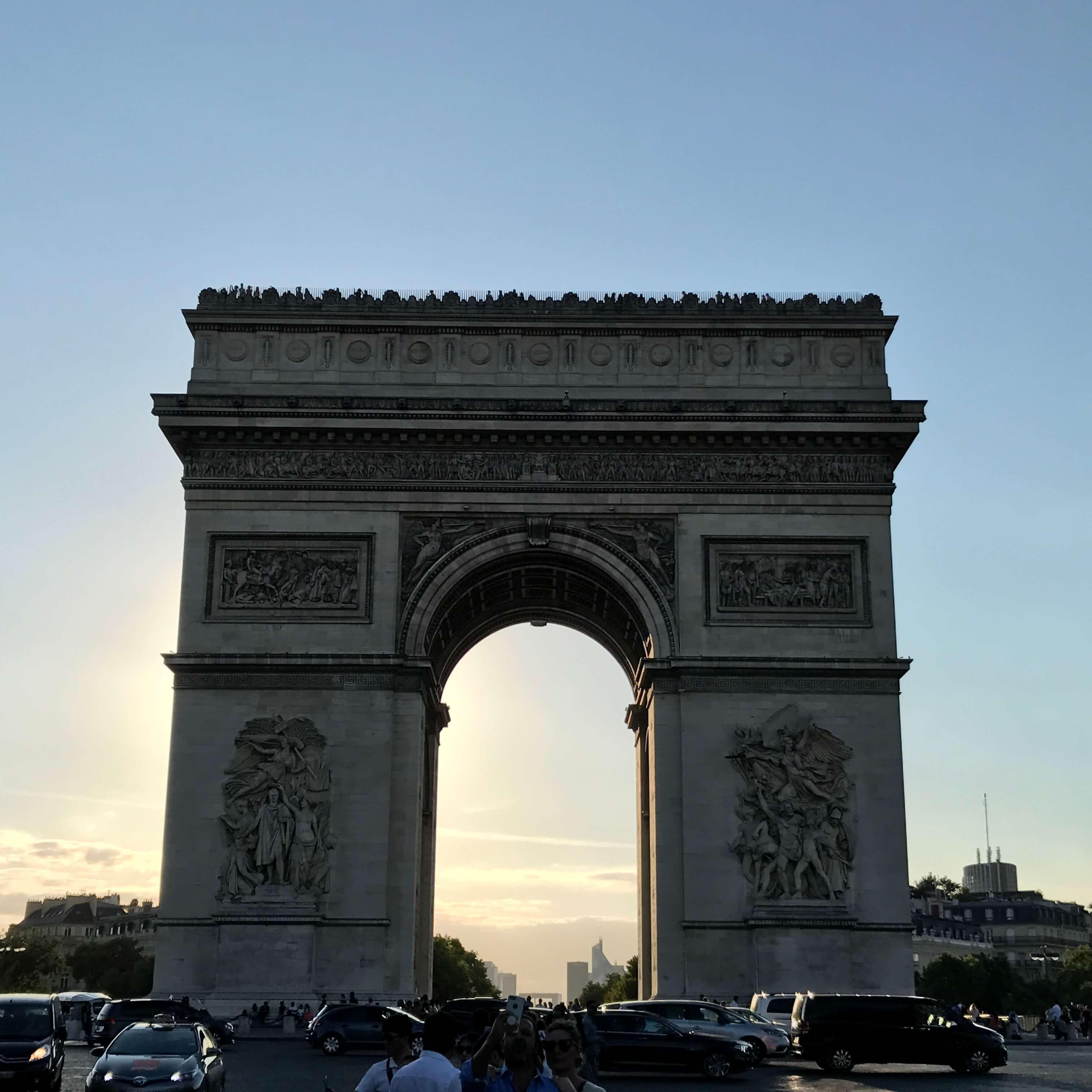 法國巴黎凱旋門 photo by 倍包客