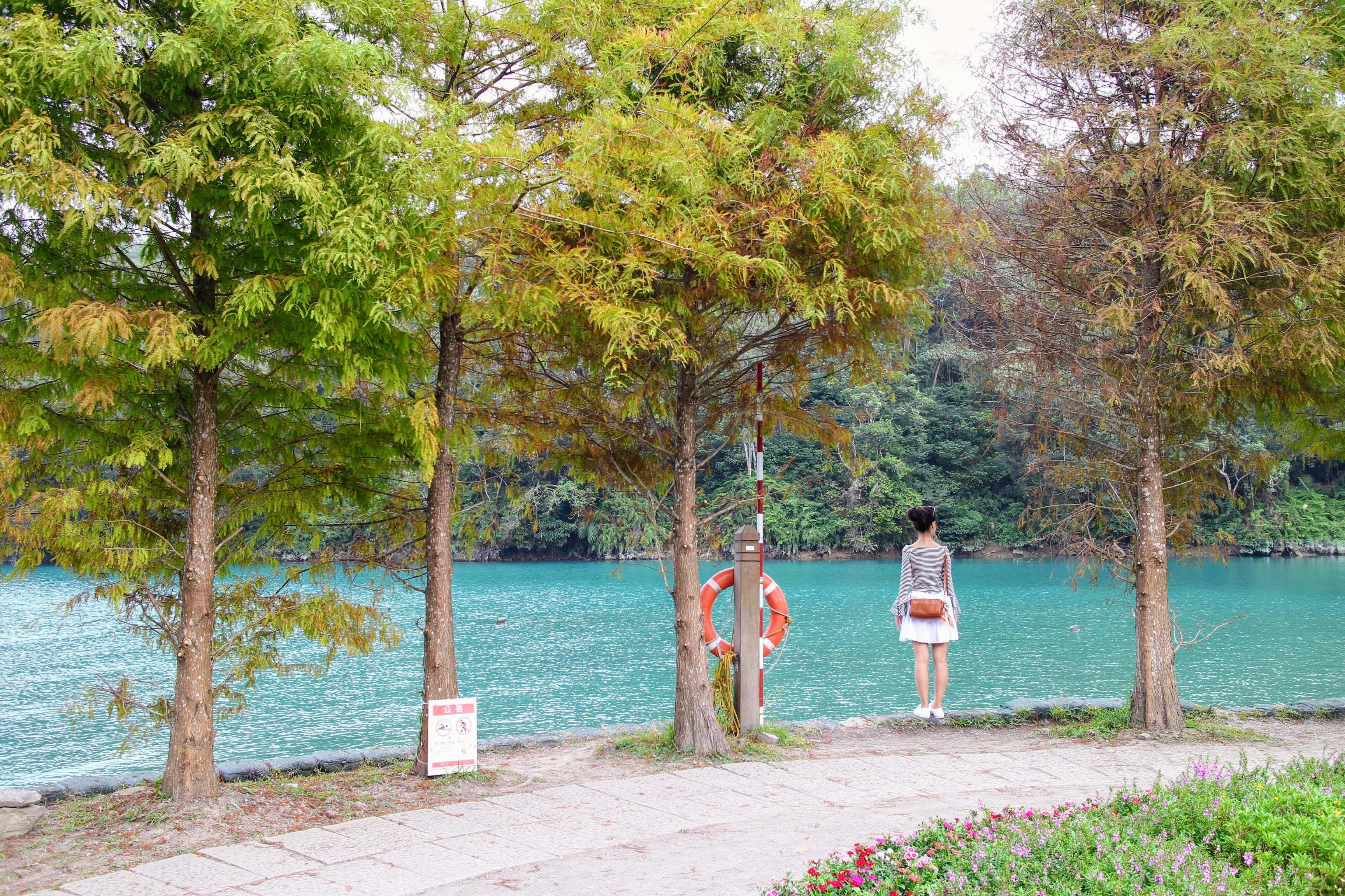 抵達向山遊客中心之前,別錯過這個美麗的公園。